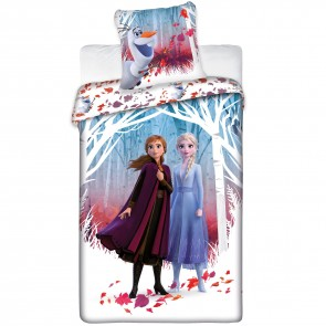Disney Frozen 2 Dekbedovertrek Anna en Elsa