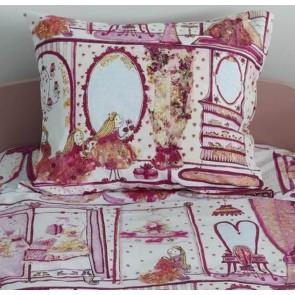 Beddinghouse Kids Princess Wardrobe Kussensloop - 60x70 cm - Roze