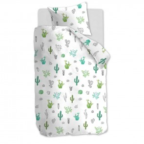 Beddinghouse Kids Dekbedovertrek Cactus Green