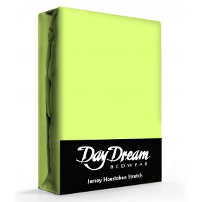 Day Dream Jersey Hoeslaken Lime-90 x 200 cm