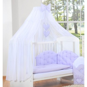 3-Delig Bedset Chic Voile Paars
