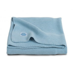 Jollein Deken 75x100cm Basic knit Ice Blue