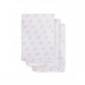Jollein Hydrofiel Washandje Little Star Pink (3pack)