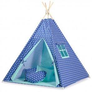 Tipi Speeltent Stars Dark Blue