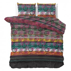 Sleeptime Dekbedovertrek Rainbow Multi