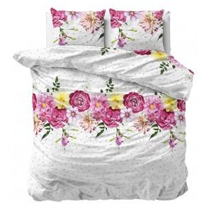 Sleeptime Dekbedovertrek Flanel Love Garden
