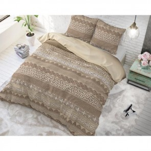 Sleeptime Dekbedovertrek Asian Lace Taupe