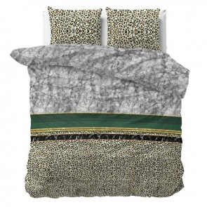 Sleeptime Dekbedovertrek Trendy Marble Green