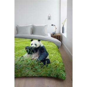 Ambiante Dekbedovertrek Panda Vira Green