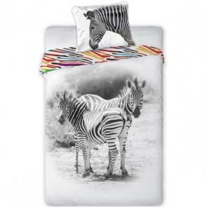 Animal Pictures Dekbedovertrek Zebra