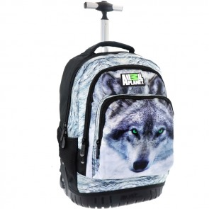 Animal Planet Trolley Wolf - Rugzak