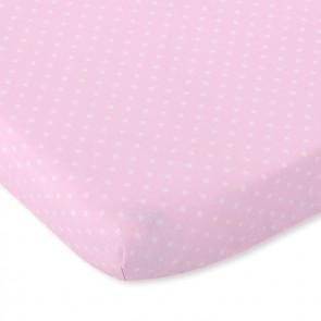My Sweet Baby Hoeslaken Polka Dots Roze
