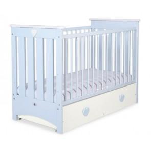 Baby Ledikant Blauw met Lade