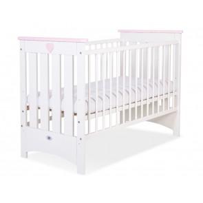 Baby Ledikant Wit/Roze