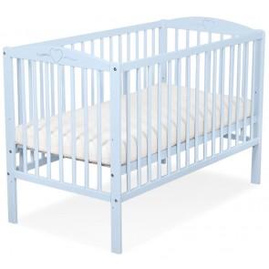 Baby Ledikant Blauw Hartje