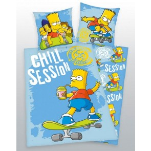 Bart Simpson Dekbedovertrek Chill