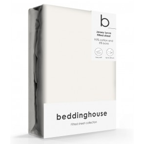 Beddinghouse Jersey-Lycra Hoeslaken Natural