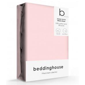 Beddinghouse Jersey-Lycra Hoeslaken Licht Roze