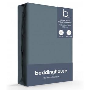 Beddinghouse Jersey-Lycra Topper Hoeslaken Cool Grey