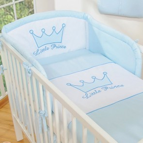 My Sweet Baby Hoofdbeschermer 'Little Prince' Blauw