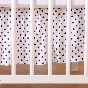 My Sweet Baby Bedrok Dots/Zwart 60x120cm