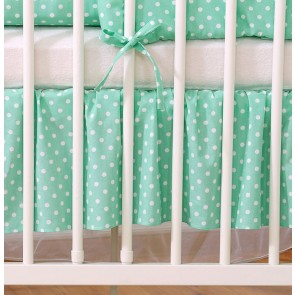 My Sweet Baby Bedrok Mint/Dots 70x140cm