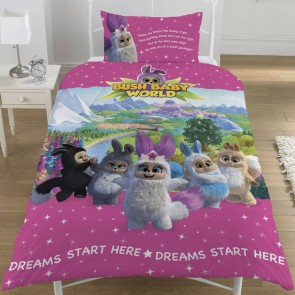 Bush Baby World dekbedovertrek Sparkle Multi