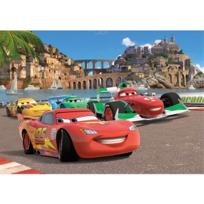 Cars 2 Race Fotobehang 4D (AG Design)