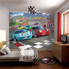Disney Cars Fotobehang (Walltastic)