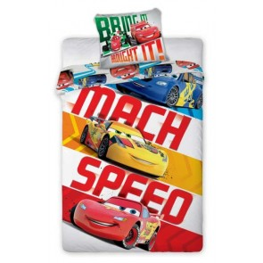Cars 2 Dekbedovertrek Mach Speed