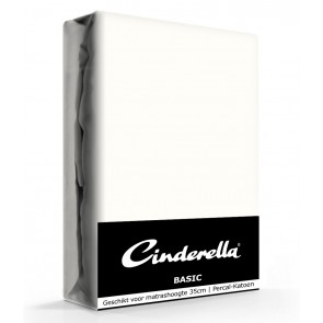 Cinderella Basic Hoeslaken Ivory Hoge Hoek - 40 cm