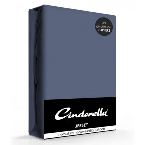 Cinderella Jersey Hoeslaken Dark Blue