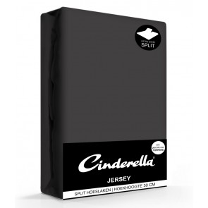 Cinderella Jersey Splithoeslaken Antracite