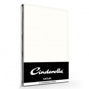 Cinderella Kussenslopen Satijn Ivory (2 stuks)