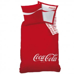 Coca Cola Dekbedovertrek Denim