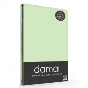 Damai Kussenslopen Soft Green (2 stuks)