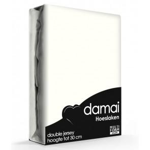 Damai Multiform Double Jersey Hoeslaken Cream