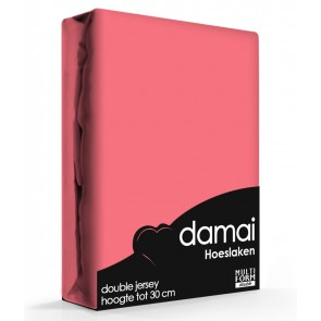 Damai Multiform Double Jersey Hoeslaken Coral