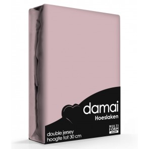 Damai Multiform Double Jersey Hoeslaken Mauve
