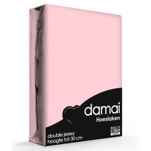 Damai Multiform Double Jersey Hoeslaken Dusty Rose