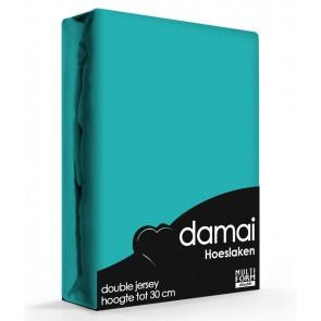 Damai Multiform Double Jersey Hoeslaken Turquoise