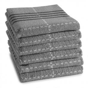 DDDDD Keukendoek Morvan Grey (6 stuks)