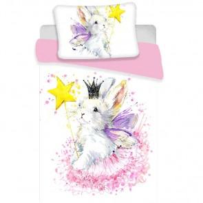 Bunny White Dekbedovertrek 100 x 135 cm