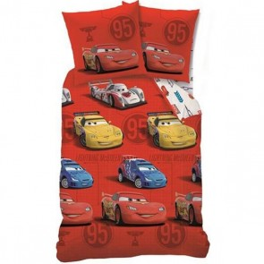 Disney Cars Dekbedovertrek Sponsor Rouge