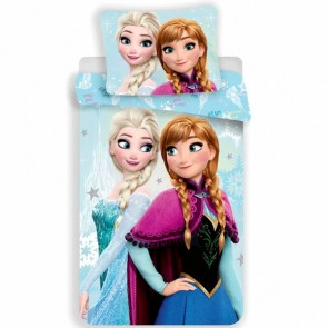 Disney Frozen Dekbedovertrek Light Blue