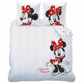 Disney Minnie Mouse Drawing Dekbedovertrek - Lits Jumeaux