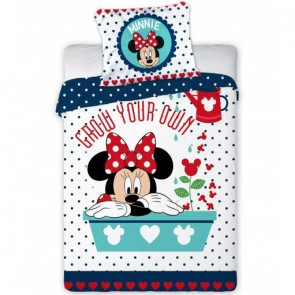 Disney Minnie Mouse Dekbedovertrek Grow Your Own