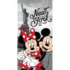 Disney Minnie Mouse New York Strandlaken 70 x 140 cm