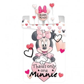 Dekbedovertrek Minnie Mouse Only Me