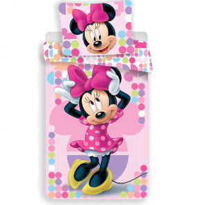 Minnie Mouse Dekbedovertrek Pink